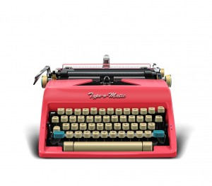 Retro Typewriter 3
